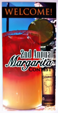 Margarita Contest Sign