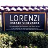 lorenzi estate vinyards sign