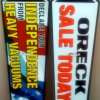 oreck arrow signs